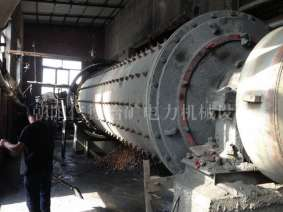 1864 overflow type ball mill